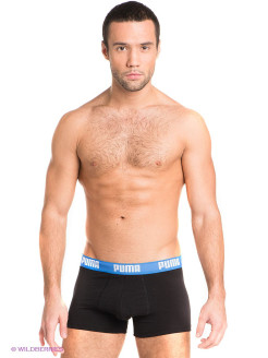 Трусы Basic Shortboxer, 2 шт. PUMA