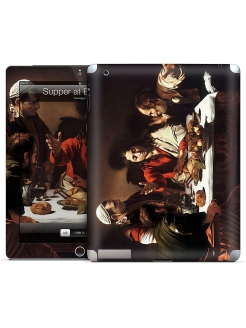 Наклейка для iPad 2,3,4 Supper at Emmaus-Caravaggio Gelaskins