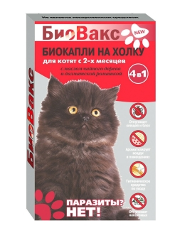 Flea and tick remedy, drops Биовакс