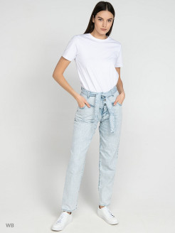 Jeans, straight lines Trussardi Jeans