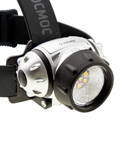 Sports lantern, headlamp, KOC-H19-LED / КОСМОС