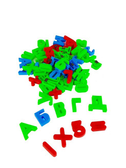 A set of letters and numbers YAKO TOYS