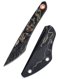 Tourist knife, fixed blade knife N.C.Custom