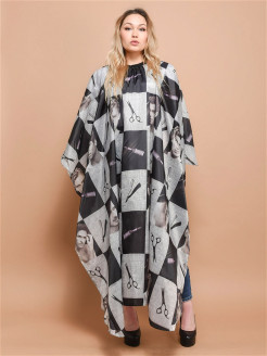 Hairdressing dressing gown Zebo Professional