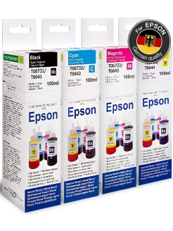 Printer inks, Eps-Com-4x100ml Revcol
