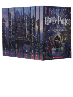 Foreign book, Harry Potter Paperback Box Set (Books 1-7) Scholastic