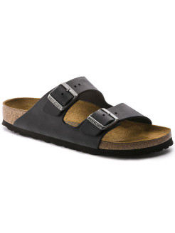 Биркенштоки Arizona FL Schwarz Narrow BIRKENSTOCK