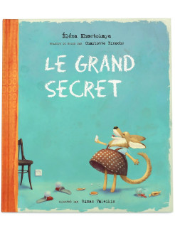 Foreign book, The most important secret. Children's book. French language Ясень и Бук