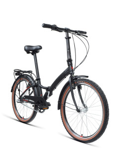 "Two-wheeled bicycle, V-brake, urban, 2020, 24 "", 3 PC. FORWARD."