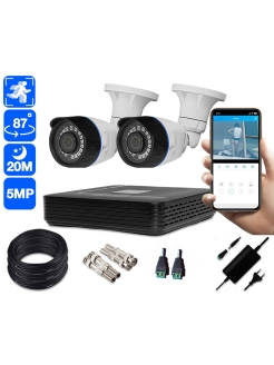 Video surveillance system Space Technology