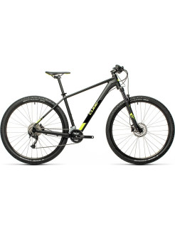 "Two-wheeled bicycle, hydraulic disc, mountain (MTB), 2021, 29 "", 18 PC. CUBE"