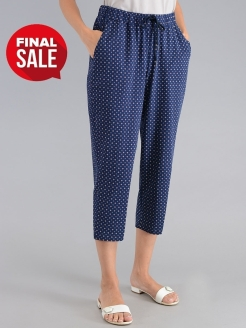 Cropped trousers MAKI