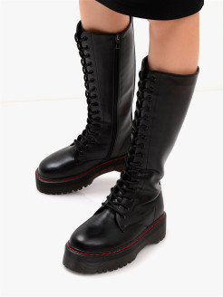 High boots Enjoin'