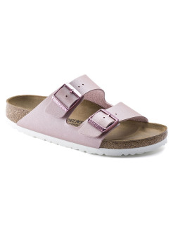 Биркенштоки Arizona BF Icy Metallic Old Rose Regular BIRKENSTOCK