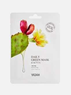 Cosmetic fabric mask, 1 PC. Yadah