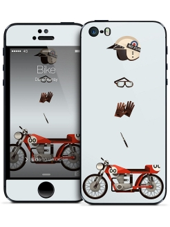 Наклейка для iPhone 5/5S Bike - Dave Murray Gelaskins