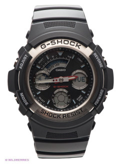 Часы G-SHOCK AW-590-1A CASIO