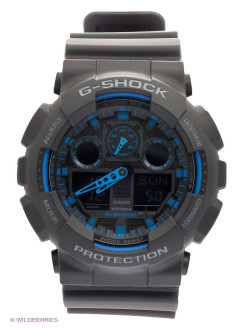 Часы G-SHOCK GA-100-1A2 CASIO