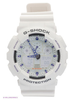 Часы G-SHOCK GA-100A-7A CASIO