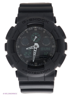 Часы G-SHOCK GA-100MB-1A CASIO