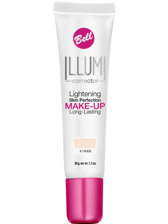 "Суперстойкий флюид ""Illumi Lightening Skin Perfection Make-up"", тон 1 Bell"