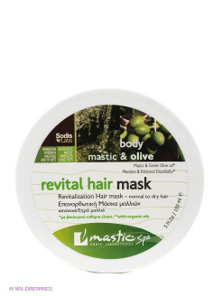 "Маска для волос восстанавливающая ""Revital hair mask"" Mastic Spa"