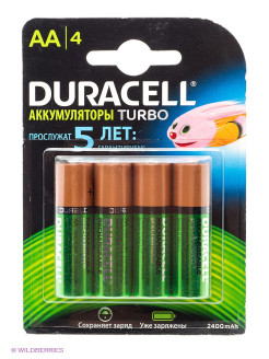 Аккумулятор Duracell HR6-4BL 2400mAh AA DURACELL