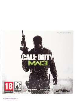 Call of Duty: Modern Warfare 3 PC-DVD (Jewel) НД плэй