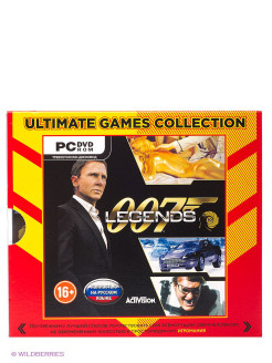Ultimate Games. 007 Legends. Русская версия (Jewel) НД плэй