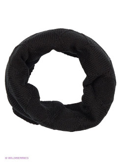 Бандана NECKWARMER Knitted&Polar Fleece STELLA CHIC BLACK Buff