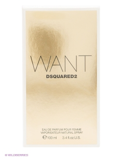 WANT EDP 100 ML NATURAL SPRAY Dsquared