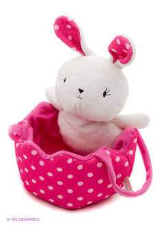 Игрушка мягкая (Polka Dots Easter Egg Hunting Bag , 20,5 см). Gund Gund