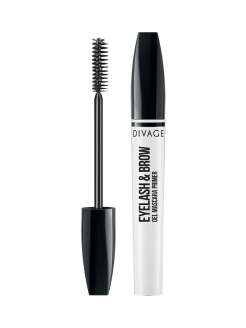 Основа под макияж EYELASH & BROW GEL MASCARA PRIMER & EYELASH BROW MASCARA DIVAGE