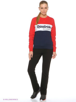 Толстовка F Iconic Crew Neck Reebok