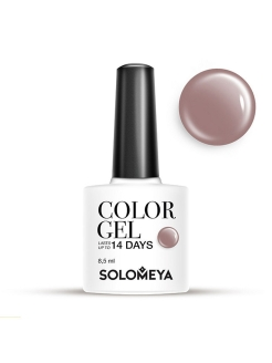 Гель-лак Color Gel Тон Taupe SCG145/Темно-серый SOLOMEYA