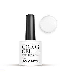 Гель-лак Color Gel Тон Milk SCG154/Молоко SOLOMEYA