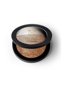 Бронзирующая пудра Bronze Glow Face & Body Bling Powder Kiss