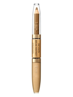 "Карандаш и гель для бровей ""Colorstay Brow Fantasy Pencil & Gel"",  Blonde 104 Revlon"