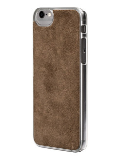 Suede Case for iPhone 6 / 6S, Gray Ubear