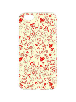 "Чехол для iPhone 6 ""Love принт Chocopony"