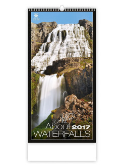 Календарь: All About Waterfalls (Все о водопадах) 8595230638694 ст.10 КОНТЭНТ