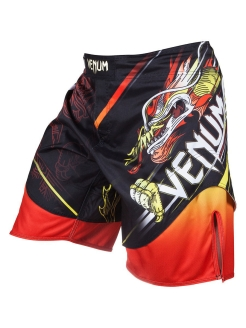 Шорты ММА Lyoto Machida Tatsu King Black/Orange Venum