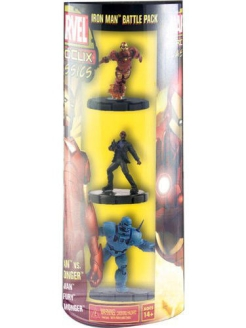 "Фигурка ""Heroclix Marvel"" Classics Ironman and Black Widow Neca"