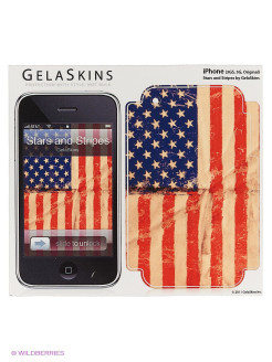 "Наклейка ""Stars and Stripes for 3G/3GS"" Kawaii Factory"