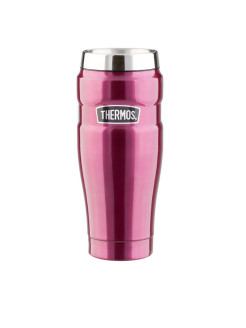 ТермокружкаMatte Raspberry leak proof Vacuum Travel Tumbler 470ml Thermos