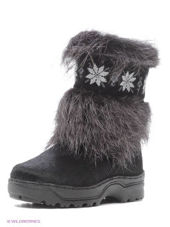 Fur high boots Moregor