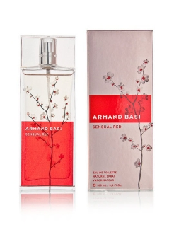 Sensual Red lady edt 100 ml Armand Basi