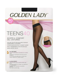 Колготки TEENS 40 Vita Bassa, Golden Lady GoldenLady