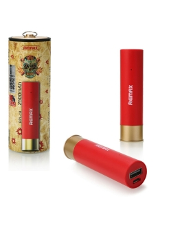 Power Bank 2500 mA Remax Bullet RPL-18 красный REMAX