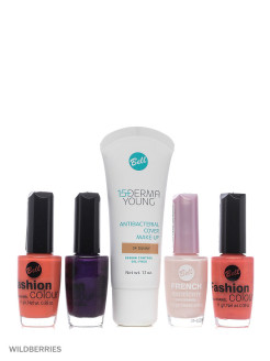Bell Товар флюид derma young, лак для ногтей fashion colour nail, лак для ногтей french manicure Bell